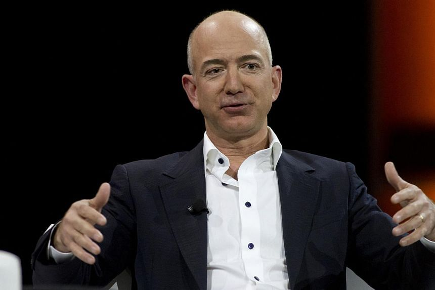 Mr Jeff Bezos speaks during a keynote speech in Las Vegas, Nevada on Nov 29, 2012. Mr Bezos, the soon-to-be owner of The Washington Post, does not plan to cut his way to profitability and says the only path to success is growth, according to an accou