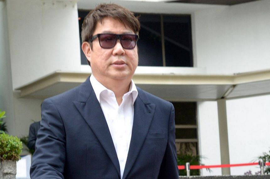 Indonesian businessman Wahju Hanafi, a member of the City Harvest Church (CHC), outside the Subordinate Courts on Sept 2, 2013. The returns from what are allegedly sham bonds that City Harvest Church invested in was repaid with money from the church,