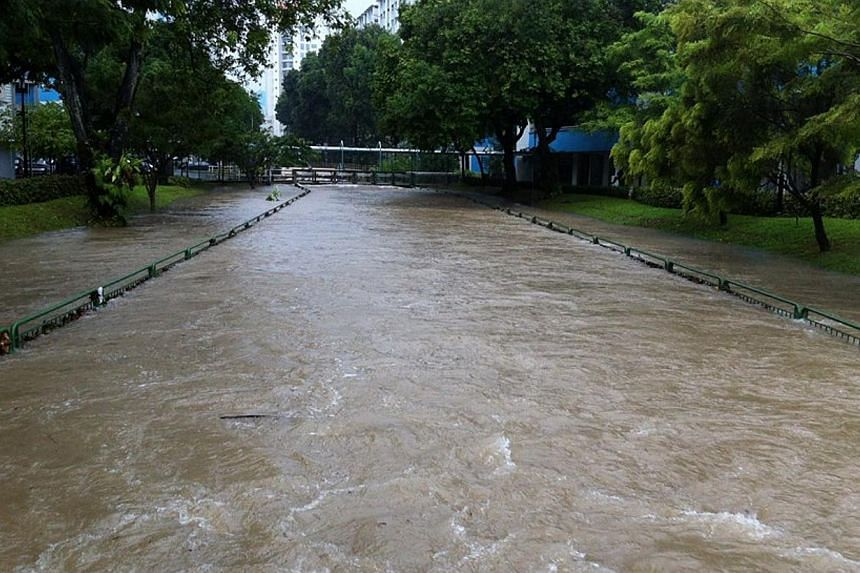 Photo of a canal at Clementi West. -- FACEBOOK PHOTO: EUNICE CHAN