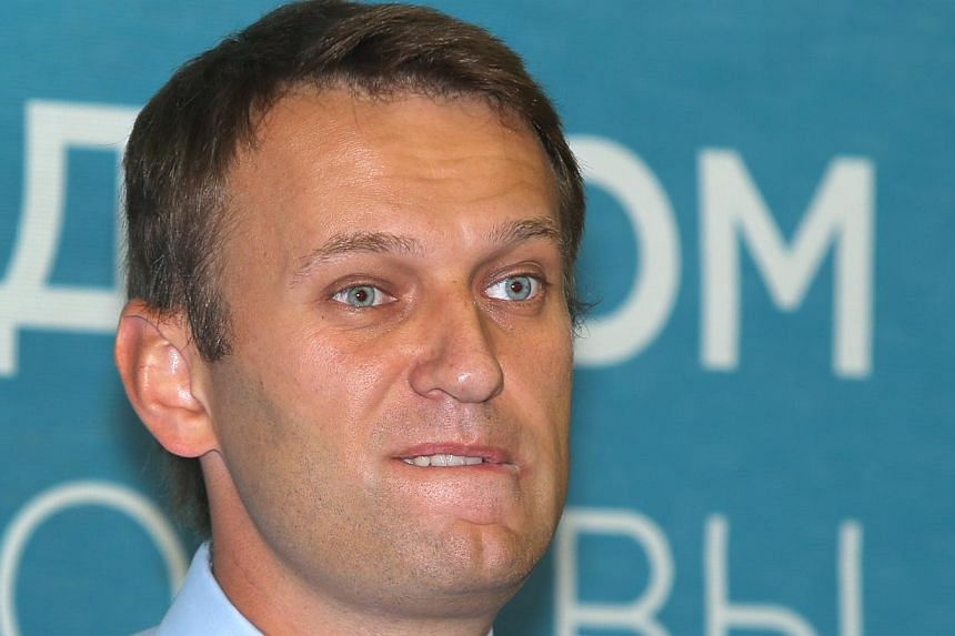 Russian opposition leader Alexei Navalny speaks at a news conference in Moscow, Russia on Thursday, Sept 5, 2013. MrNavalny was set on Friday, Sept 6, 2013, to hold the final rally of his fierce campaign for Moscow mayor before facing a Kremlin