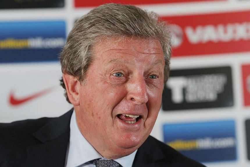 England football manager Roy Hodgson attends a media conference at a hotel in Watford on Thursday, Sept 5, 2013. Hodgson has made the unusual move of revealing his starting line-up for the World Cup qualifier against Moldova at Wembley late