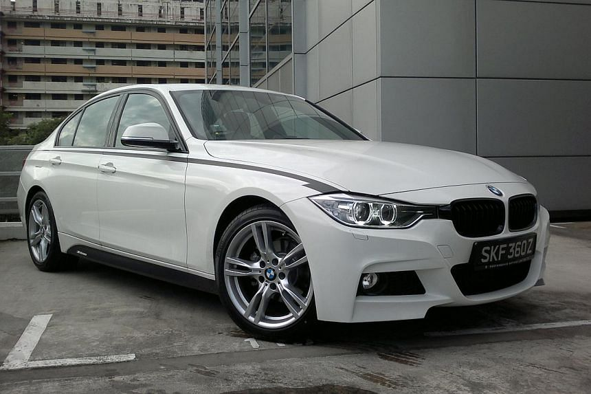 BEST-SELLING SMALL-CAR BRANDS IN FIRST 7 MONTHS: BMW - 500 cars. -- PHOTO: CHRISTOPHER TAN