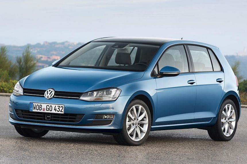 BEST-SELLING SMALL-CAR BRANDS IN FIRST 7 MONTHS: Volkswagen - 1,500 cars. -- PHOTO: VOLKSWAGEN