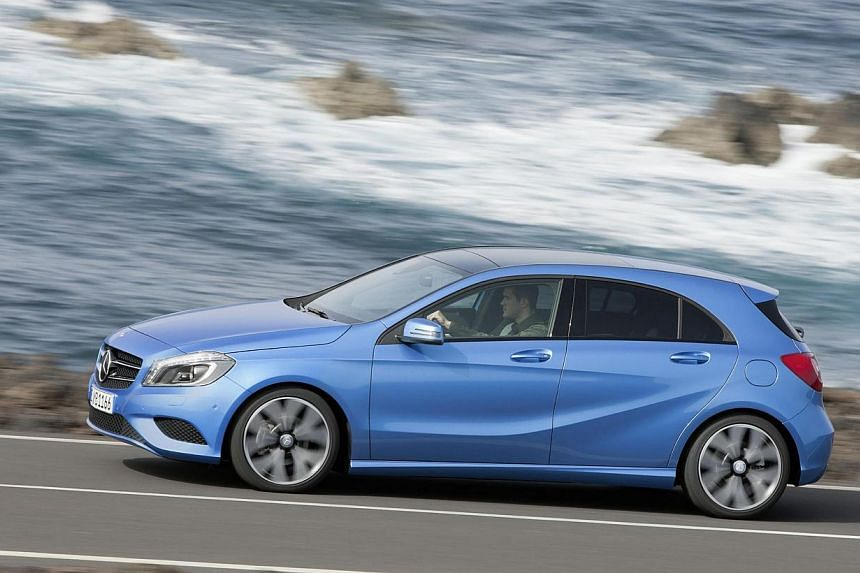 BEST-SELLING SMALL-CAR BRANDS IN FIRST 7 MONTHS: Mercedes-Benz - 1,200 cars. -- PHOTO: MERCEDES-BENZ