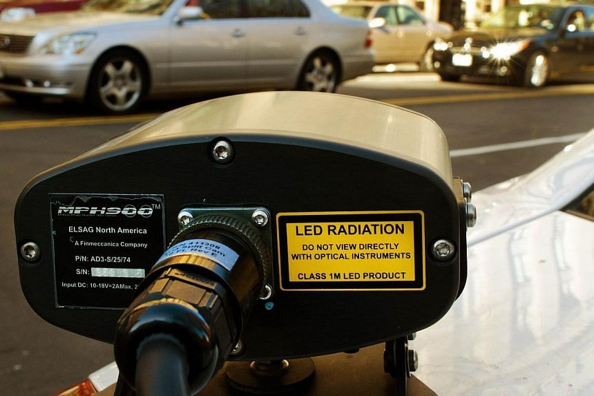 US police departments are rapidly expanding the use of automatic licence plate readers, sparking debate on whether the technology is a valuable crime-fighting tool or a massive invasion of privacy. -- FILE PHOTO: AFP