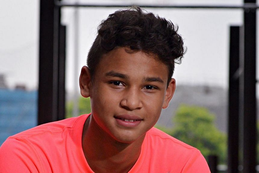 Irfan (left), 16, and Ikhsan Fandi, 14, will fly to Santiago to conclude the deal while Fandi's lawyers will vet the fine print to avoid any complication.