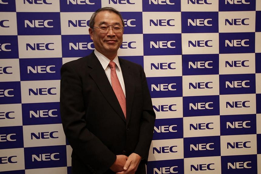 NEC president Nobuhiro Endo hosted the NEC press conference to announce the launch of NEC Laboratories Singapore on Monday, Sept 9, 2013. Japanese information technology giant NEC Corporation announced on Monday that it will set up a new research cen