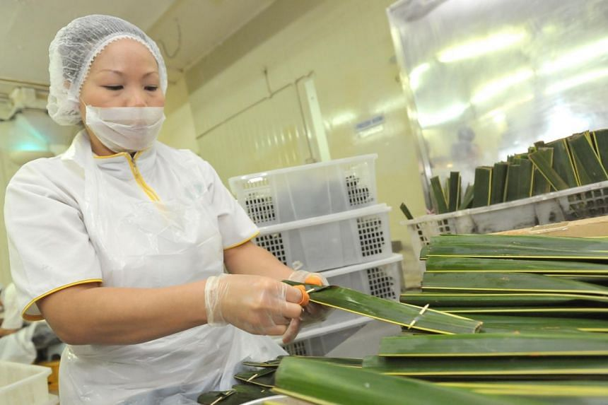 Food industry employees can soon look forward to a new food specialisation module which will focus on food safety, innovative food processing and food sustainability, among other things.-- ST FILE PHOTO: LIM YAOHUI