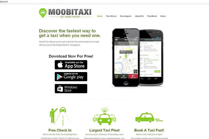 MoobiTaxi's developer, Maven Lab, hopes to get operators on board to help make it easier and faster for commuters to get cabs.