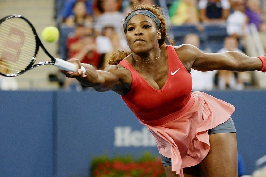 World number one Serena Williams won her fifth US Open title on Sunday, defeating second-ranked Victoria Azarenka 7-5, 6-7 (6/8), 6-1 to capture her 17th career Grand Slam singles crown. -- PHOTO: AFP
