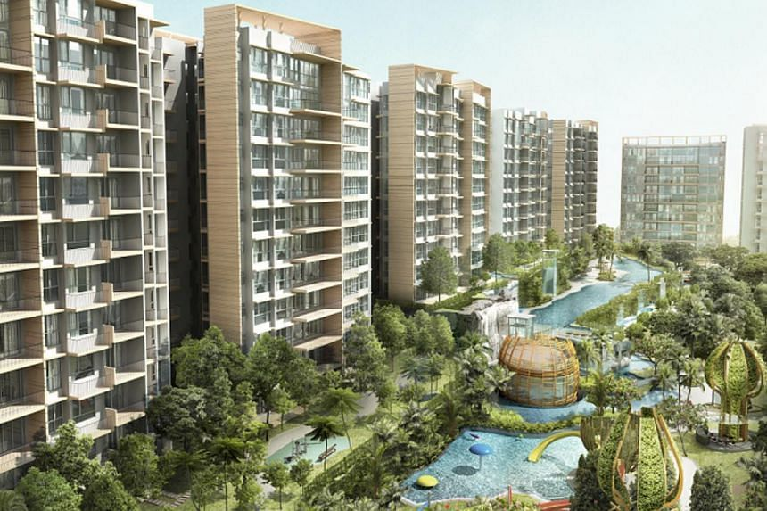 Number of units sold at The Glades: 80 out of 200. -- PHOTO: KEPPEL CORPORATION