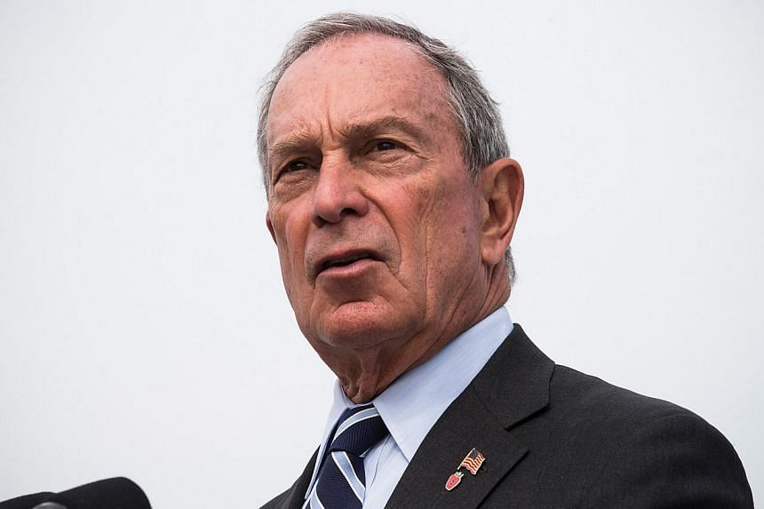 New York City Mayor Michael Bloomberg speaks at a press conference in the Greenpoint neighborhood of the Brooklyn Borough of New York City on Aug 19, 2013. New Yorkers on Tuesday will pick a Republican and a Democratic candidate who will battle it ou