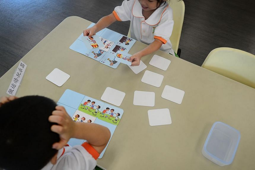 To promote the effective use of games in Chinese language learning, the Singapore Centre for Chinese Language (SCCL) and Seed Institute have jointly developed Fun Games for Learning Mandarin, a Chinese language teaching aid for pre-schools.-- S