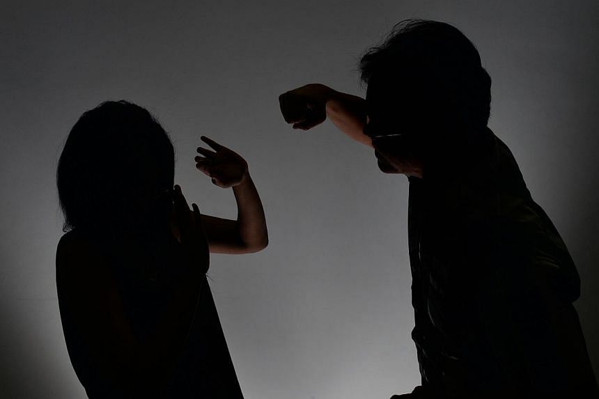 An unemployed man, who kicked his Chinese national girlfriend and broke her nose over unrequited love was jailed for six months on Thursday. -- TNP POSED PHOTO:ARIFFIN JAMAR