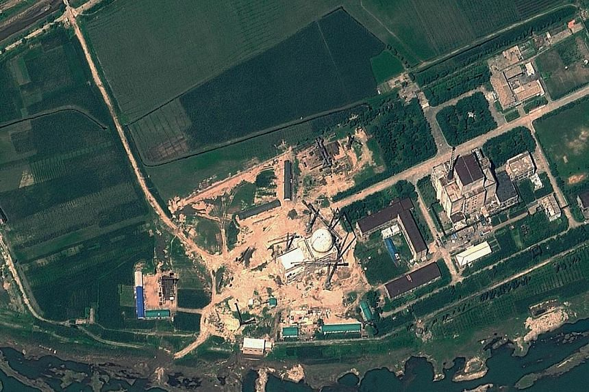 A satellite image of The Yongbyon Nuclear Scientific Research Centre in North Korea taken on Aug 6, 2012 and provided by GeoEye on Aug 22, 2012. Russia said on Thursday that North Korea was apparently conducting work on a nuclear reactor, saying the