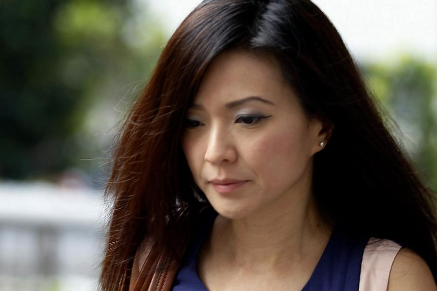 """An auditor testifying in the City Harvest Church trial said on Friday that certain practices described in emails written by accused Serina Wee (in photo) were """"improper"""", and mischaracterised advice he gave to the church. These include downplaying th"""
