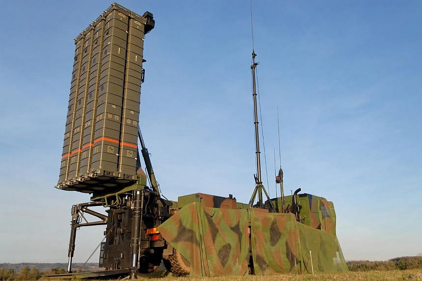 The Singapore Armed Forces will buy a new Aster-30 surface-to-air missile system, to boost Singapore's air defence shield. -- PHOTO: MBDA