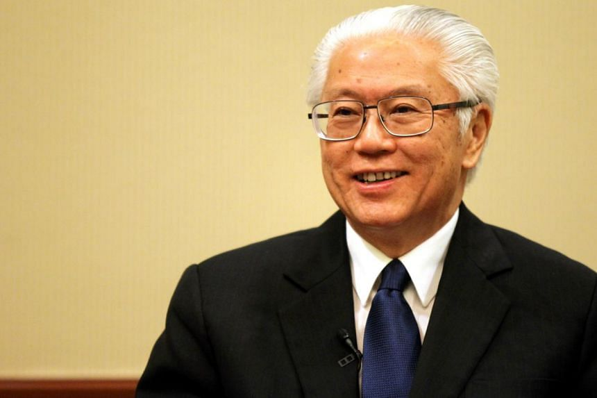 The President of the Republic of Singapore Tony Tan Keng Yam (above) and his wife, Mrs Mary Tan, sent their birthday wishes to former Prime Minister Lee Kuan Yew, who turned 90 on Monday, Sept 16, 2013. -- FILE PHOTO: ZAOBAO