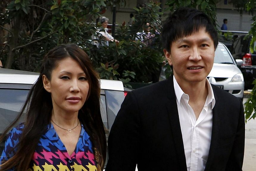 City Harvest founder Kong Hee and his wife Ms Ho Yeow Sun arrive at the court. Kong Heewas once so concerned about the possibly bringing harm to the church that he offered to step down from its management board, said defence lawyers on Tuesday,