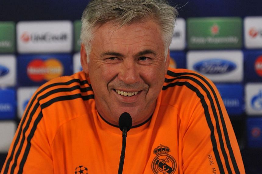 Real Madrid coach Carlo Ancelotti has not ruled out the possibility that Gareth Bale could start his side's Champions League opener against Galtatasaray on Tuesday as a substitute. -- PHOTO: AFP