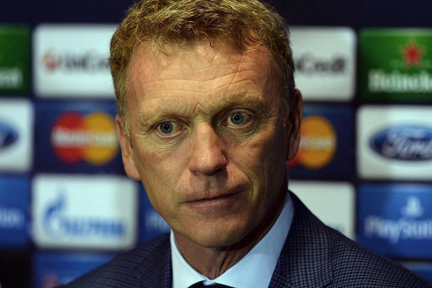 David Moyes admits he can't wait to savour his first taste of Champions League action with Manchester United as his team prepare to open their campaign on Tuesday. -- PHOTO: AFP