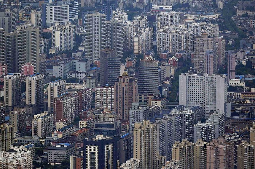A general view shows a residential area of Puxi district in Shanghai Aug 2, 2013. China's new home prices rose at the fastest rate in at least 2-1/2 years in August, with some large cities rising around double the national pace, complicating governme