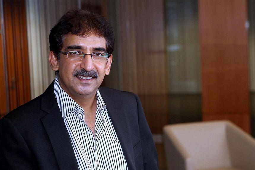 Professor Vijay Sethi -- ST PHOTO: LAU FOOK KONG