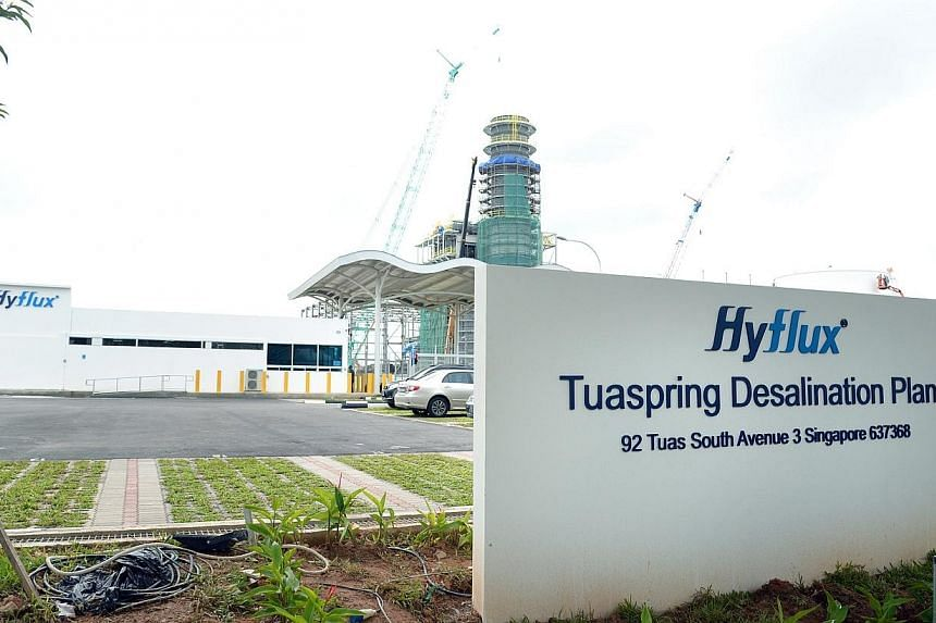 Tuaspring, Singapore's second and largest desalination plant, was opened by Prime Minister Lee Hsien Loong on Wednesday, Sept 18, 2013. The republic now has the capacity to turn seawater into fresh to meet up to a quarter of its entire demand. -- ST