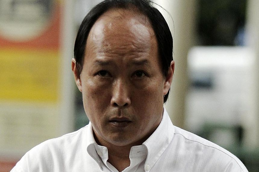 Mr Chris Leng Kah Poh (above), a former food and beverage (F&B) manager at Ikea, walked out of court a free man on Wednesday after the High Court acquitted him of corruption. -- ST FILE PHOTO: WONG KWAI CHOW