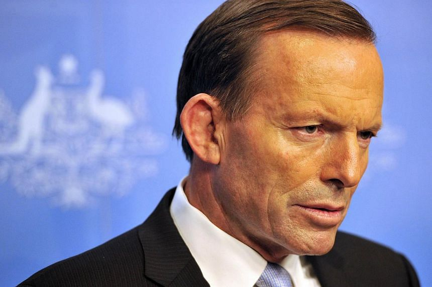 Tony Abbott will be officially sworn in as Australia's new prime minister on Wednesday, with his controversial plan to stop asylum-seeker boats coming into play. -- PHOTO: AFP