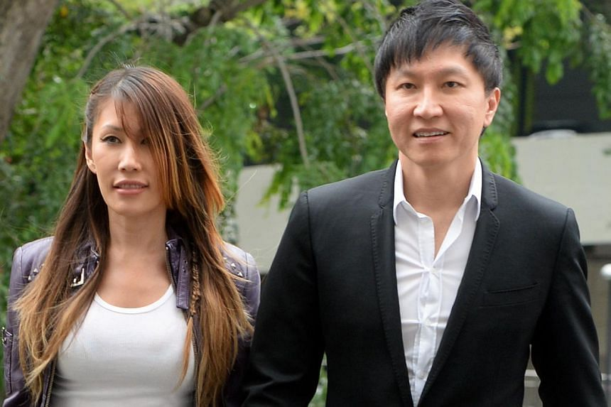 Kong Hee, founder of City Harvest Church (CHC), walking hand-in-hand with his wife, singer Ho Yeow Sun, popularly known as Sun Ho, outside the Subordinate Courts on Sept 16, 2013. CHC leaders had done nothing wrong in being discreet about funding Ms