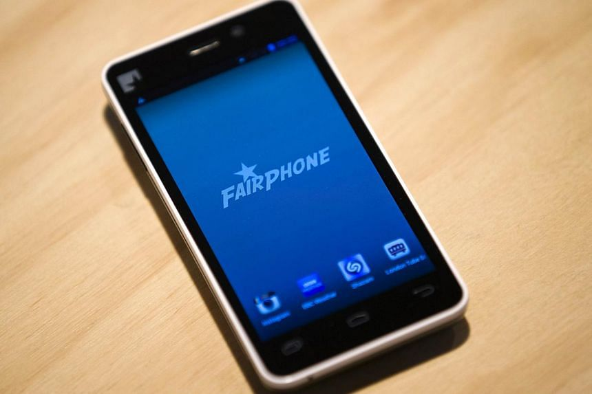 A prototype of a Fairphone smartphone is seen during its unveiling in London on Wednesday, Sept 18, 2013.A device billed as the world's first ethically sourced smartphone was unveiled in London this week, but despite thousands of pre-orders, it