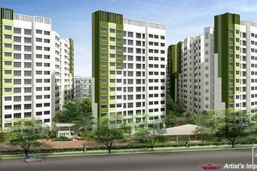 The 80 new three-generation (3Gen) HDB Build-to-Order flats will be located at Saraca Breeze @ Yishun, close to Khatib MRT Station, revealed National Development Minister Khaw Boon Wan on Saturday. -- PHOTO: MINISTRY OF NATIONAL DEVELOPMENT