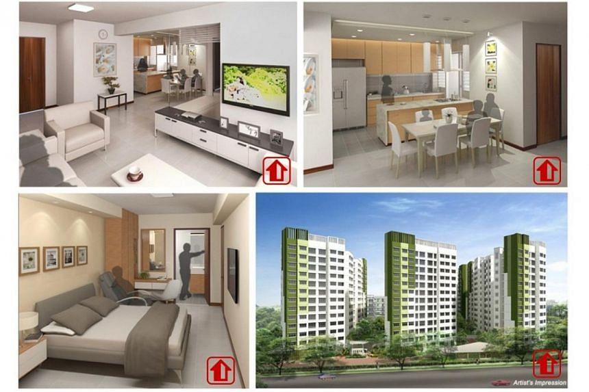 The 80 new three-generation (3Gen) HDB Build-to-Order flats will be located at Saraca Breeze @ Yishun, close to Khatib MRT Station, revealed National Development Minister Khaw Boon Wan on Saturday. -- PHOTO:MINISTRY OF NATIONAL DEVELOPMENT