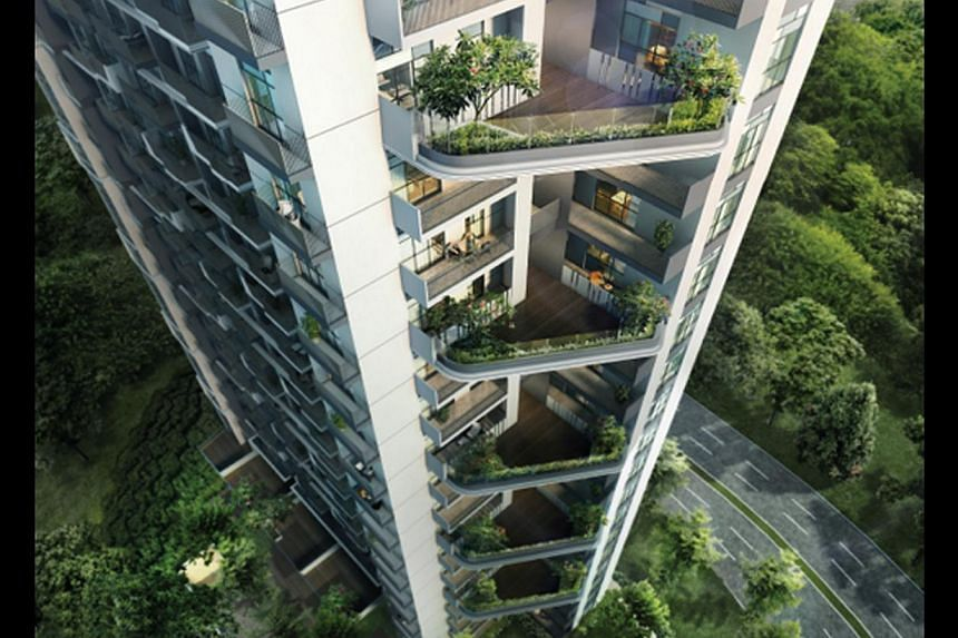 A 484 sq ft shoebox apartment at the 99-year leasehold J Gateway in Jurong East, which was launched in June, was sold for as high as $1,774 psf. That worked out to a price of $858,000.