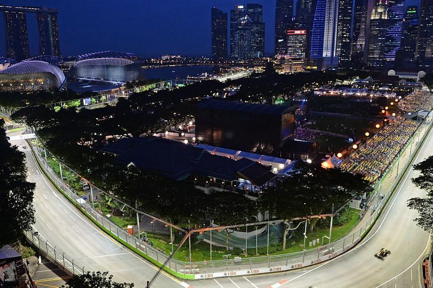 The sixth instalment of the Formula One SingTel Singapore Grand Prix has recorded the highest attendance since the inaugural 2008 race.-- ST FILE PHOTO:JOYCE FANG
