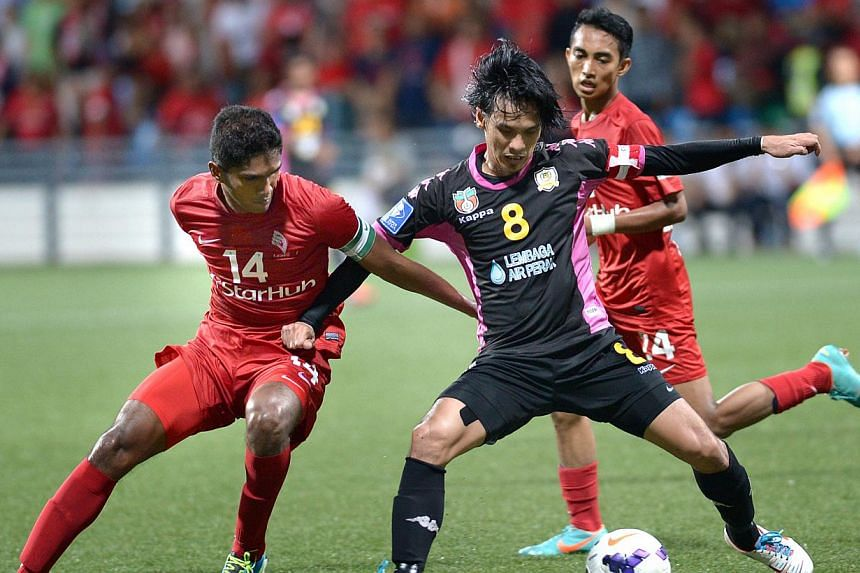 The Malaysia Cup match between LionsXII and Perak at the Jalan Besar Stadium, Sept 31, 2013.Malaysian football club Perak FA have suspended all of their coaches and officials for two weeks on Monday over suspected match-fixing following a serie