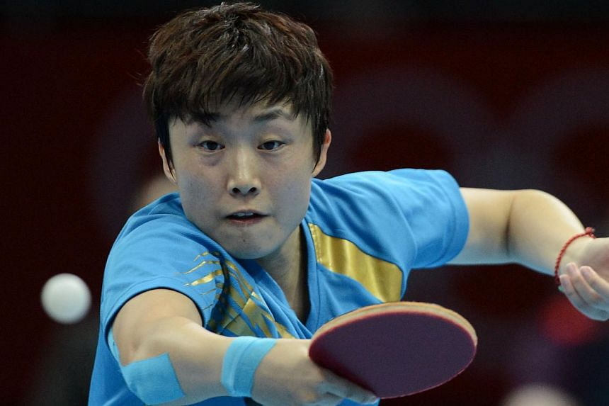 Table tennis player Feng Tianweiis one of66 athletesto receive the Sports Excellence Scholarship (spexScholarship), while a further 26 athletes from nine sports have been shortlisted as potential future scholars.-- ST FILE PHO