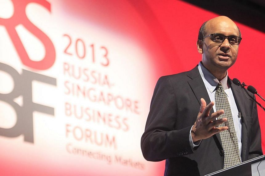 Emerging market economies will remain the key driver of world economic growth over the next five to 10 years and even beyond despite the recent volatility and challenges, said Deputy Prime Minister Tharman Shanmugaratnam (above) on Tuesday, Sept 24,