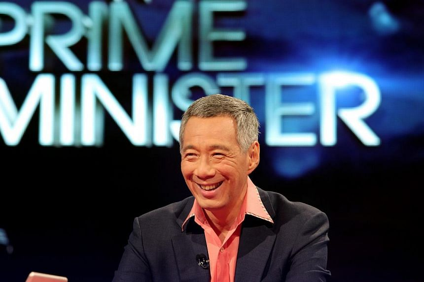 Prime Minister Lee Hsien Loong speaks on a live television forum on Channel News Asia on Sept 24 2013. Prime Minister Lee Hsien Loong has sought to inject some balance in the national preoccupation with work-life balance, warning Singaporeans th