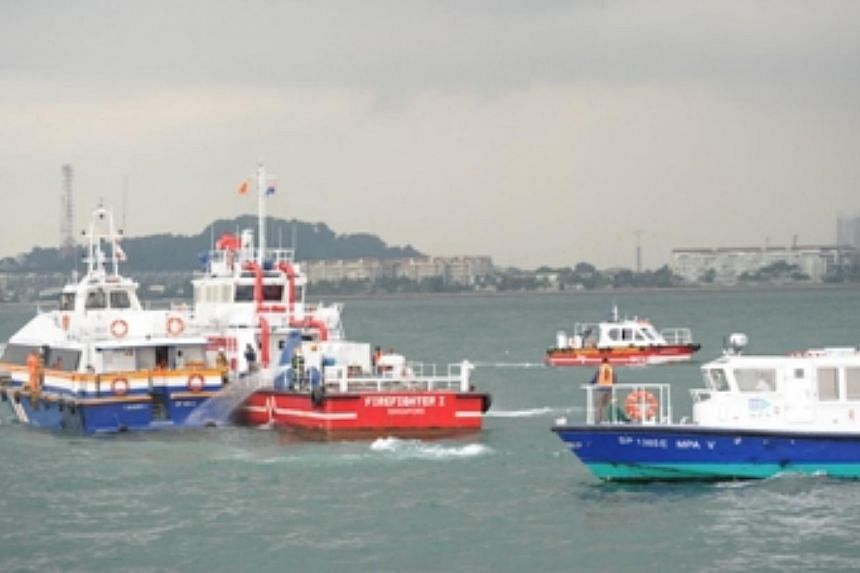 Multi-agencies' vessels arrived on scene to assist the distressed ferry. The Maritime and Port Authority of Singapore (MPA) mobilised more than 300 personnel from nine agencies on Wednesday morning to simulate a ferry rescue exercise in Singapore's