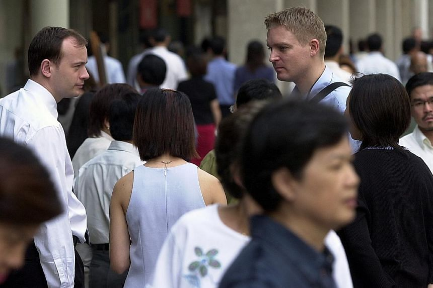The National Solidarity Party has welcomed the move to get employers to give Singaporeans fair consideration in jobs, but is calling for the Government to extend the rules to work pass schemes beyond the Employment Pass (EP). -- ST FILE PHOTO:M