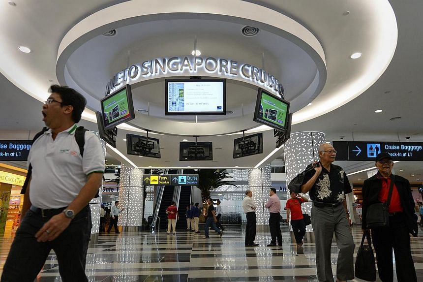 The flight services firm Sats is buying Singapore Cruise Centre from Temasek Holdings in a $110 million move to increase its presence in passenger shipping.-- ST FILE PHOTO:NG SOR LUAN