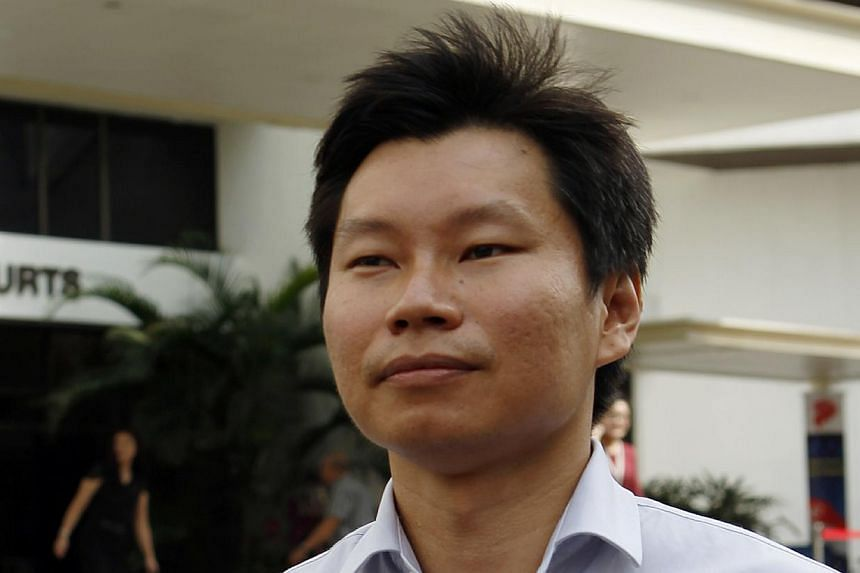 Bernard Lim Yong Soon, the National Parks Board officer behind last year's Brompton bike procurement fiasco told the court on Friday that he will claim trial. -- ST FILE PHOTO:WONG KWAI CHOW