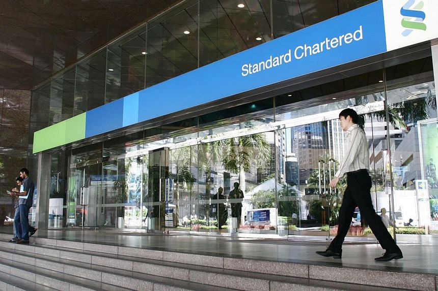 Standard Chartered has said it will increase lending to small and medium-sized enterprises by 45 per cent in its key markets of Asia, Africa and the Middle East over the next five years. -- ST FILE PHOTO: MARK CHEONG