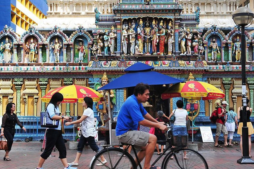 A portion of Waterloo Street near the Sri Krishnan temple (above) is already a no-car zone. The street is also flanked by museums and arts facilities such as Sculpture Square. While residents and many religious groups worry about congestion and noise