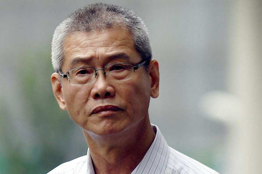 See Kuan Long was jailed for four weeks for attacking a passenger in a car.-- ST PHOTO:WONG KWAI CHOW