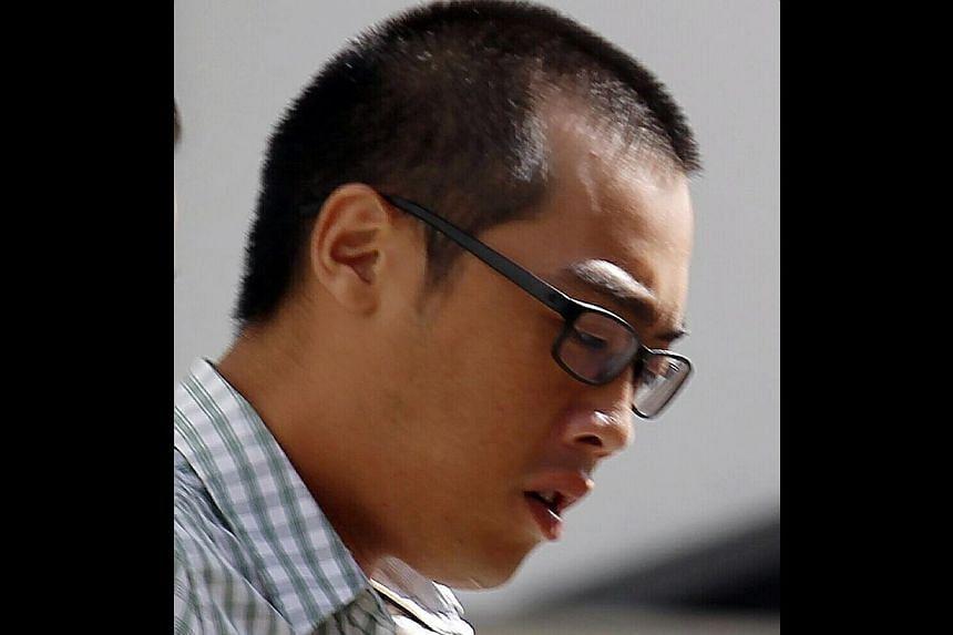 Seet Zhi Yang, 23, was sentenced to 5 months' jail for causing death of a pedestrian at along Upper Serangoon Road towards Bendemeer Road. -- ST PHOTO: WONG KWAI CHOW