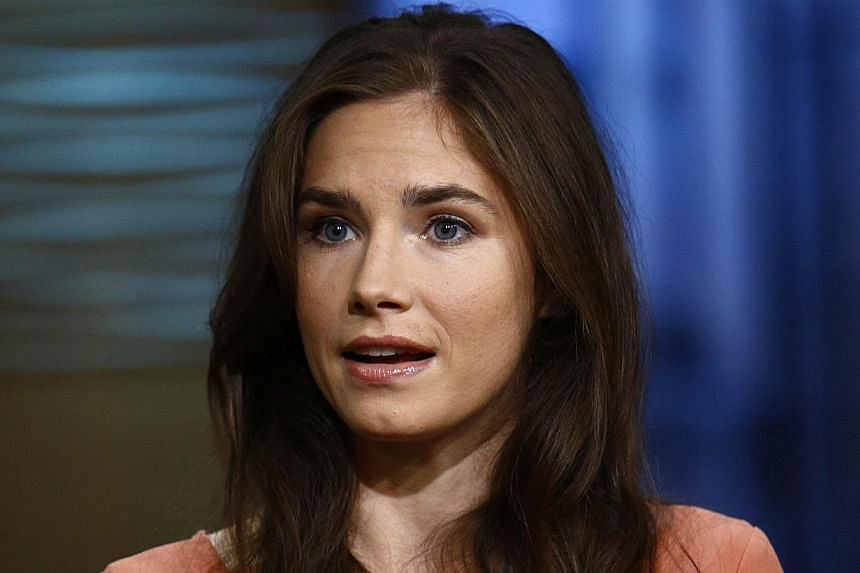 This image released by NBC shows Amanda Knox during an interview on the Today show, Friday, Sept 20, 2013 in New York. The retrial of Amanda Knox and her former lover for the murder of a British student begins in Florence on Monday, reanimating debat