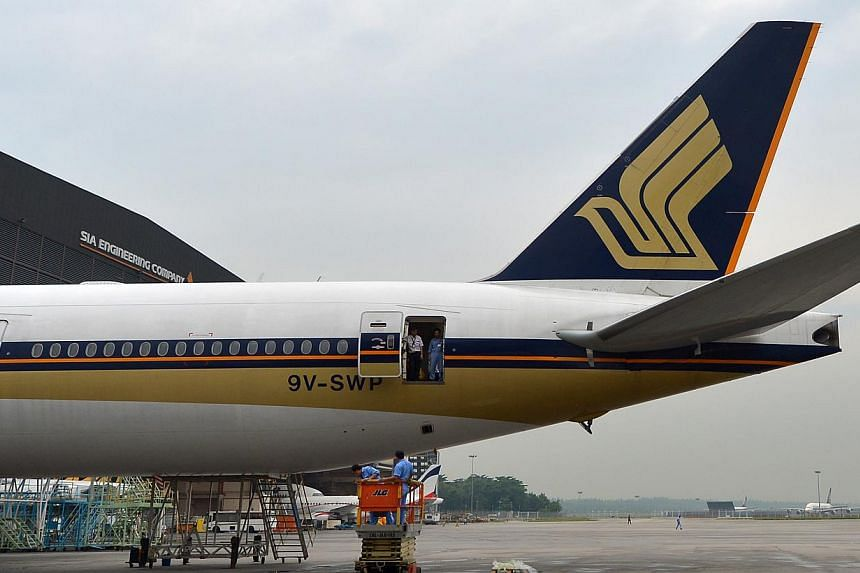 Singapore Airlines (SIA) will resume flights to Athens, a year after suspending services to the Greek capital. -- ST FILE PHOTO: ALPHONSUS CHERN